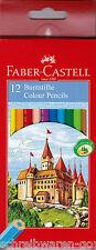 Farbstift Faber-Castell 12er Etui 111212 Farbstifte Buntstift Buntstifte