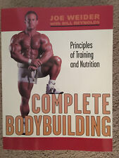 Joe Weider with Bill Reynolds Principles of Training Complete Bodybuilding New