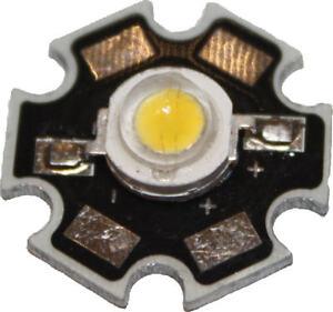 HIGHPOWER 1W LED Chip Hochleistung LEDs auf Platine High-Power  1 Watt