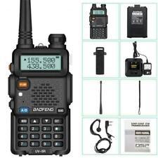 Baofeng UV-5R VHF/UHF Dual Band USB Two Way Ham Radio Walkie Talkie A9C7