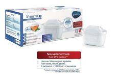 Pack 9 cartouches filtrantes Brita Maxtra+ pour carafe - filtre à eau MicroFlow