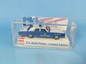 Busch Plymouth Fury - Georgia State Police Car 1:87 Scale