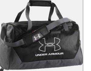 Under Armour UA Storm Hustle Duffle SM 1256657 001 NEW