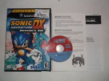 Sonic Adventure DX: Director's Cut (Nintendo GameCube, 2003) COMPLETE w/ Manual