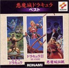 Castlevania Akumajo Dracula Best Konami Original Soundtrack Music CD Japan
