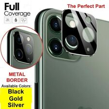For iPhone 11 &11 Pro-Max Camera Lens Tempered Glass Screen Protector