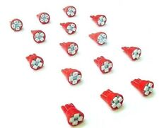 15 BRIGHT Red 194 168 Instrument Panel Cluster Dashboard LEDs Lights Bulbs Ford