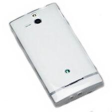 Silikon TPU Handy Hülle Cover Case  Foggy für Sony Xperia U + Displayschutzfolie