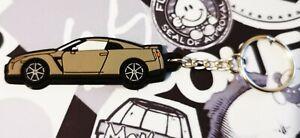 Nissan GTR R35 Key Anello Gun Metal