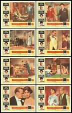 LOVE IN THE AFTERNOON original 1957 lobby card set AUDREY HEPBURN/GARY COOPER