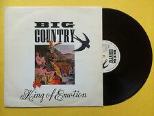 BIG COUNTRY - King of Emotion, phonogram 870-617-1 ex-condition 30.5cm Unique