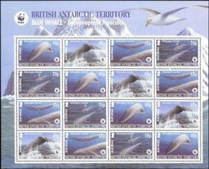 BAT 2003 Blue Whale/WWF/Marine/Nature/Wildlife/Conservation 16v shtlt (n18696)