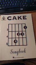 CAKE Official Guitar Tablature Tab Book Songbook RARE