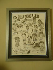 Brooklyn Dodgers Memories Artist Signed & Numbered LTD Edition Print