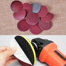 100x 50mm 2 inch Round Sanding Sheet Mix Grit Sander Disc Pad Polisher Sandpaper