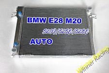 ALUMINUM RADIATOR Fit BMW E28 520I 85-87;525E 81-87;528E 82-88 M20 2.0L/2.7L A/T