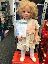 Monika Levenig Vinyl Puppe Nina 77 cm. Top Zustand