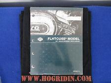 Harley 2011 street glide screamin eagle FLHXSE2 parts manual catalog 99433-11