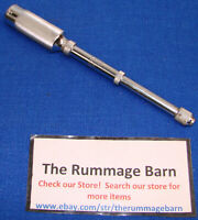 vintage STANLEY YANKEE 03-043 HAND DRILL with 8 BITS --- chrome --- push drill