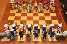 Jeu d'échecs playmobil - Série police -  Moto cross/Police (15)