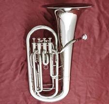 Professional JINBAO 4 Valve Euphonium Horn Silver nickel Plating 11.81'' Bell