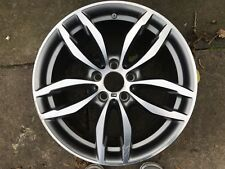 "Genuine OEM BMW X3 X4 F25 F26 19"" stile 662M RICAMBIO POSTERIORE LEGA RUOTA 7849662"