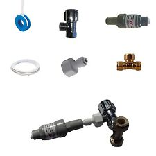 ICE MAKER FRIDGE WATER FILTER CONNECTION KIT - 350KPA Safety Valve & Tap