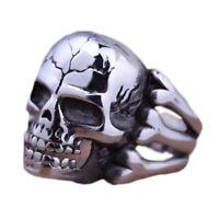 Totenkopf Herren Ring Schadel Knochen Silber Skull Piraten Skelett .vzYL iGRYp