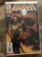 Punisher #1, 2000 Marvel Knights, Garth Ennis and Steve Dillon, Miss Cut