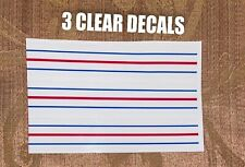 ODYSSEY TRIPLE TRACK VINYL DECAL * CLEAR & SOLID DECALS* *FREE S/H  w/TRACKING#*
