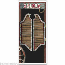 Cowboys & Western Plastic Party Banners