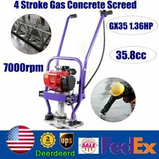 Gas Concrete Wet Screed 35.8cc 4 Stroke Power Screed Cement Gx35 1.36Hp 0.65L Us