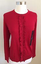NWT$54.99 BANANA REPUBLIC Women's Red Cardigan Size M