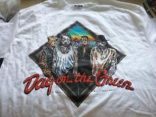 U2 Pretenders 1987 Day On Green Crew Shirt Xl Nmint Rare Clean Vtg Htf!