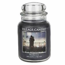 Village Candle Rendezvous Large Jar Candle  NEW  26378