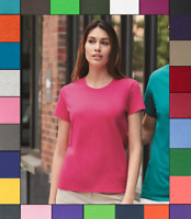 Gildan Womens Plain T Shirt Ultra Cotton Short Sleeve Blank Tee Top Shirts G200L
