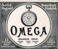 1928 Alpina Seit 14 Jahren unbedingt zuverlässig 16x24 cm original Printwerbung