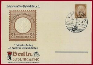 German WW 2 Third Reich postcard  Berlin 1940