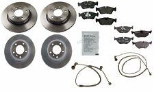 BMW E46 328i 99-05 Front Brake Anti-Squeal Paste Pad Wear Sensor & Rotors OEM