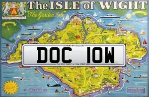 DOC 10W, DOCTOR, Isle of Wight. Cherished Number, Reg, Private Plate, Suffix