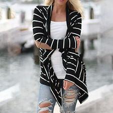 NEW Fashion Women Long Sleeve Sweater Top Casual Cardigan Outwear Coat Jacket GW