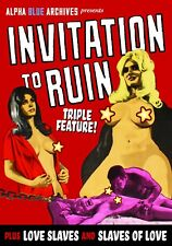 """GRINDHOUSE TRIPLE FEATURE"""" INVITATION TO RUIN, LOVE SLAVES & SLAVES OF LOVE"""