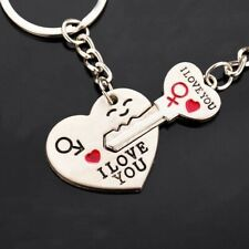 Dad I love you heart-shaped keychain key chain key ring lover ring romantic crea