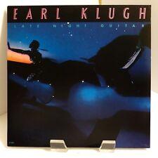 "1981 Earl Klugh ""Late Night Guitars"" Liberty LT-1079 Mint Stereo LP"