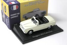 1:43 Atlas By Norev Peugeot 403 Cabriolet Classic Cars NEW bei PREMIUM-MODELCARS