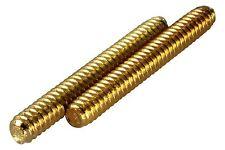 Brass ABR-1 Bridge Thumbwheel Posts for USA Gibsons Gold