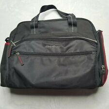 Eddie Bauer Messenger Diaper Baby Bag Grey,Red Many Pockets and Zip