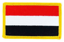 FLAG PATCH PATCHES YEMEN  COUNTRY  IRON ON EMBROIDERED SMALL