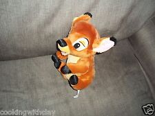 PLUSH DOLL FIGURE BABY DISNEY BAMBI DOE DEER STUFFED ANIMAL TOY