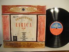 Tempi d'oro Della Lirica, Odeon Records, QALP 10133, Italy